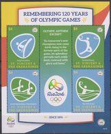 Olympics 2016 - Basketball - ST. VINCENT - S/S MNH - Verano 2016: Rio De Janeiro