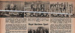 VOETBAL..ROYAL BERCHEM SPORT..1938.. - Non Classés