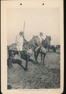 Photogravure MAROC -- Cavaliers Marocains Un Jour De Fantasia   ( Cliche Flandrin ) Dim 11 Cm X 16 Cm - Photographie