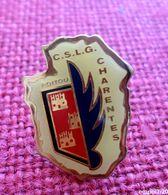 Pin's CSLG POITOU CHARENTES -  Club Sportif Et Des Loisirs De La Gendarmerie - Police