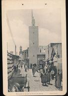 Photogravure MAROC --  Mosquee De La Rue Du Capitaine Hiler ---  ( Cliche Flandrin ) Dim 11 Cm X 16 Cm - Photographie