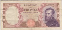 Italie - Billet De 10000 Lire - Michelangelo - 8 Juin 1970 - P97e - 10000 Liras