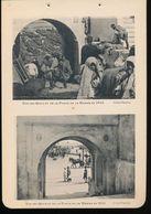Photogravure MAROC --  Vue Des Quais Et De La Porte De La Marine En 1905 -- 1916  ( Cliche Flandrin ) Dim 11 Cm X 16 Cm - Photographie