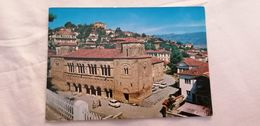 Old Vintage  Used Colour Postcard OHRID Makedonija Macedonia Yugoslavia - Macédoine
