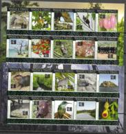 TRINIDAD AND TOBAGO, 2019, MNH, FAUNA OVERPRINTS, BIRDS, FISH, TURTLES, DEER, COCOA, 20v - Other