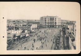 Photogravure MAROC --   La Place De France En 1916    ( Cliche Flandrin  ) Dim 11 Cm X 16 Cm - Photographie