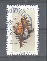France Autoadhésif Oblitéré (Un Cabinet De Curiosités : Gastéropode) (cachet Rond) - Oblitérés