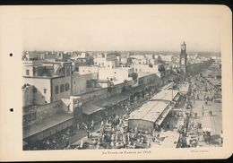 Photogravure MAROC --   La Place De France En 1913    ( Cliche Chelles   ) Dim 11 Cm X 16 Cm - Photographie