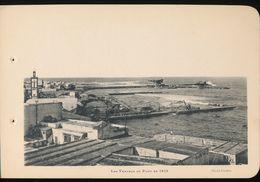 Photogravure MAROC --   Les Travaux Du Port En  1913    ( Cliche Chelles   ) Dim 11 Cm X 16 Cm - Photographie