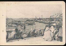 Photogravure MAROC --   Le Debarcadere  En  1912    ( Cliche Chelles   ) Dim 11 Cm X 16 Cm - Photographie