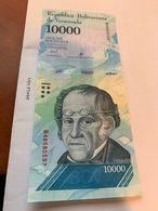Venezuela 10.000 Bolivares Uncirc. Banknote 2017 #2 - Venezuela
