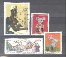 France Oblitérés : M.G. Benoist - Dole - Année Du Rat (petit Format à 0,97 Et 1,40) (cachet Rond) - Oblitérés