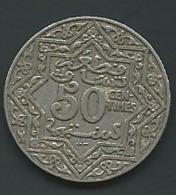 Maroc - Morocco - 50 CENTIMES, Empire Chérifien Pia 22812 - Marokko