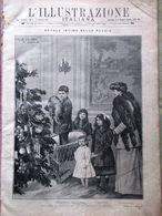 L'Illustrazione Italiana 1 Gennaio 1911 Mascagni Puccini Grace Disastro Bolton - Libros, Revistas, Cómics