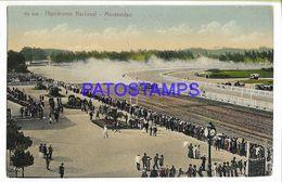 137202 URUGUAY MONTEVIDEO RACECOURSE HIPODROMO NACIONAL POSTAL POSTCARD - Uruguay