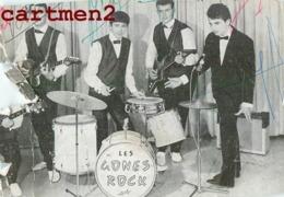 GROUPE DE ROCK LES GONES ROCK ROCKEUR AUTOGRAPHE DEDICACE LYON - Musique Et Musiciens