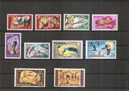 Nigéria - Faune - Signature NSP &M CoLtd ( 225/227F XXX -MNH) - Nigeria (1961-...)