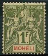 Moheli (1906) N 14 * (charniere) - Nuovi
