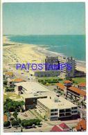 137214 URUGUAY PUNTA DEL ESTE BEACH PLAYA BRAVA POSTAL POSTCARD - Uruguay