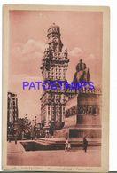 137217 URUGUAY MONTEVIDEO MONUMENTO ARTIGAS Y PALACIO SALVO POSTAL POSTCARD - Uruguay