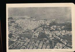 Photogravure MAROC --  Vue Generale De Casablanca , Prise En Aeroplane 1914     Dim 11 Cm X 16 Cm - Photographie
