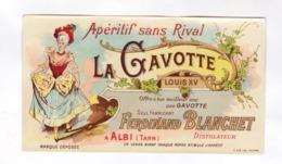 ETIQUETTE APERITF LA GAVOTTE, GRANDE DISTILLERIE FERNAND BLANCHET A ALBI - Etichette