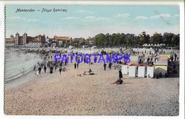 137230 URUGUAY MONTEVIDEO BEACH PLAYA RAMIREZ POSTAL POSTCARD - Uruguay