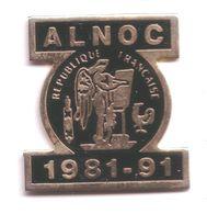 AN146 Pin's ALNOC Coq République France écriture Association Linguistique Occitane Signé Agire Achat Immédiat - Animaux