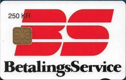 Denmark - Danmønt - Betalingsservice - DD032A - 250Kr. Exp. 05.1995, 1.250ex, Used - Danemark