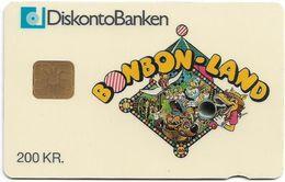 Denmark - Danmønt - Bonbon Land- DD015 - 200Kr. Exp. 11.1993, 1.250ex, Used - Danemark