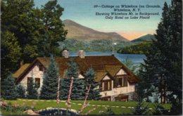 New York Adirondacks Whiteface Cottages On Whiteface Inn Grounds 1951 Curteich - Adirondack