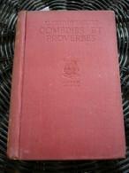 Alfred De Musset: Comédies Et Proverbes Tome 1/ Lutetia-Nelson, Circa 1910 - Books, Magazines, Comics