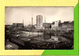 DUNKERQUE Canal De Jonction Et Rue De Calais Peniches  Edition TOP 239 - Dunkerque