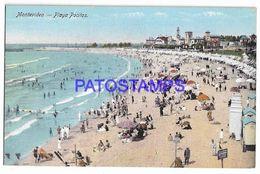 137239 URUGUAY MONTEVIDEO PLAYA POCITO VISTA PARCIAL POSTAL POSTCARD - Uruguay