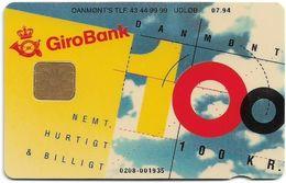 Denmark - Danmønt - Girobank & Posten - DD013B - 100Kr. Exp. 07.1994, 1.098ex, Used - Danemark