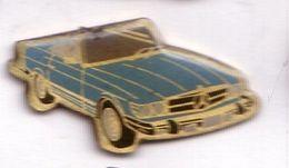 L34 Pin's MERCEDES Cabriolet Bleu Achat Immédiat - Mercedes