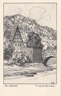 KÜNSTLERKARTE Von Otto Ubbelohde - Es Steht Die Welt In Blüte - Ubbelohde, Otto