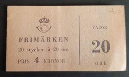 Zweden 1961 Nr 469 - Carnets