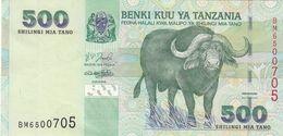 500 SHILLINGS TANZANIA BANKNOTE, Sehr Gute Erhaltung - Tanzania