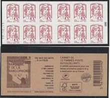 CARNET GUICHET MARIANNE DE CIAPPA 20g LP  Daté 19.12.13 - Markenheftchen