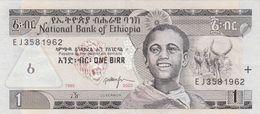 1 BIRR ETHIOPIA BANKNOTE, Sehr Gute Erhaltung - Etiopia
