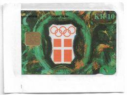 Denmark - Danmønt - Olympic Committee Atlanta 96 - DB031 - 10Kr, Exp. 11.1997, 2.000ex, NSB - Danemark