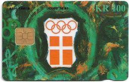 Denmark - Danmønt - Olympic Committee Atlanta 96 - DD108 - 100Kr, Exp. 10.1997, 10.000ex, Used - Danemark