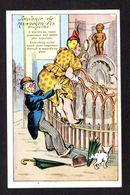 Humour - Souvenir De Manneken-Pis Bruxelles - Une Femme Veut Voir Le Zizi à La Loupe, Chien Pisse Sur Le Parapluie - Fantaisies