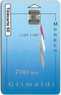 Monaco - MF43 - 700 Ans Des Grimaldi - SC7, 10.1996, 50Units, 100.000ex, Used - Monaco