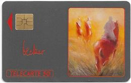 Monaco - ME4 - Randonnée, Michel Becker - Solaic Afnor, 04.1991, 50Units, 11.000ex, Used - Monaco