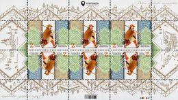 Ukraine - 2020 - Europa CEPT - Ancient Postal Routes - Fedir Feketa, The Mailman - Mint Miniature Stamp Sheet - Ukraine