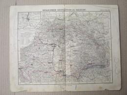 Stieler's Schul Atlas - UNGARISCHE KRONLÄNDER Und GALIZIEN - Justus Perthes ( Old Map ) - Mapas Geográficas