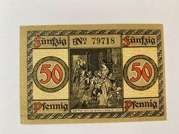 Allemagne Notgeld Wetzlar 50 Pfennig - [ 3] 1918-1933 : République De Weimar