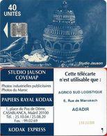 Morocco - Studio Jauson (Blue) - Agrico Sud Logistique, 6 Rue De Marrakech (With Innovatron), 40Units, Used - Maroc